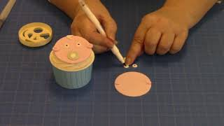 How to Make a Cute Baby Face Using the Funny Faces and More Cutter