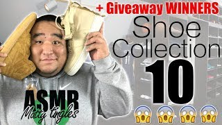 [ASMR] Shoe Collection 10 (+ Giveaway Winner) | MattyTingles