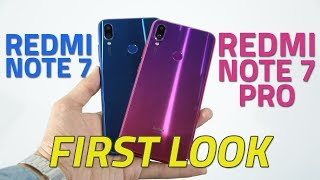 Redmi Note 7 Pro, Redmi Note 7 First Look | Price in India, Specs, Features, and More