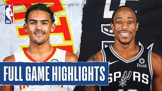 HAWKS at SPURS | FULL GAME HIGHLIGHTS | January 17, 2020