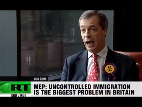 EU must die: Farage on Euro plunge, Wilders ban and slagging the president