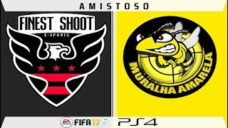 LIVE - Amistoso -- Finest Shoot ES x Muralha Amarela