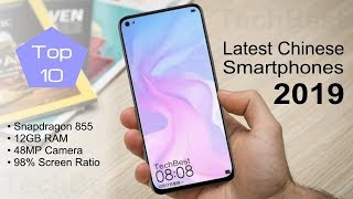 Newest Chinese Smartphones 2019 (Top 10 Best)