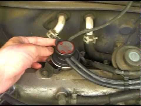 How To Fix Code P0401 1996 Toyota Rav4 YouTube