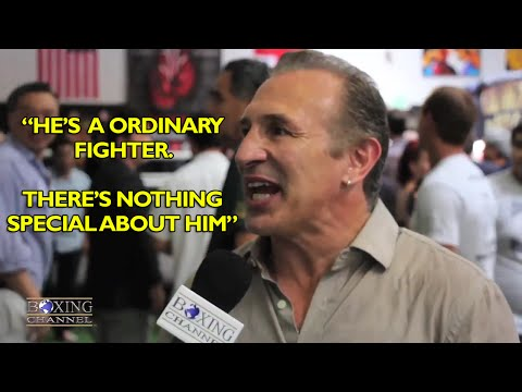 Ray Mancini feels Canelo is nothing special Fan of Golovkin Mares Santa Cruz  Doniare