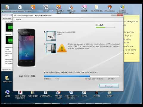 Recuperar Tpop Alcatel 4010a con Upgrade