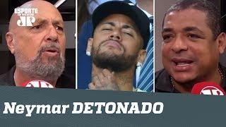 """Neymar é DETONADO: """"saindo pela PORTA DOS FUNDOS? E a novidade?"""""""