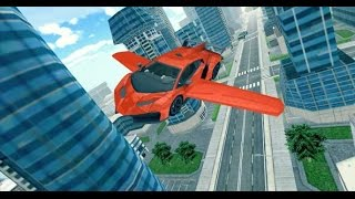 Flying Car Racing 3D iOS / Android Gameplay