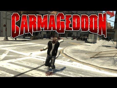 Grand Theft Auto IV s Modifikacemi... CARMAGEDDON - [GMSVidea][CZ]