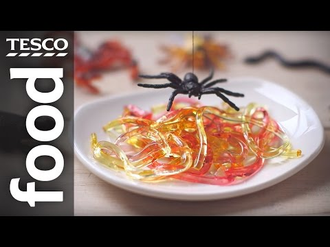 How to Make Jelly Worms for Halloween | Tesco Food