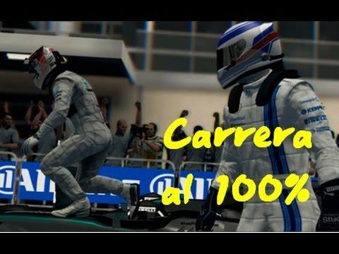 F1 2014 Carrera al 100% GP Abu Dhabi con AsturPTT