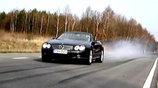 Mercedes SL 55 AMG Action + Sound SL55 Benz V8 Kompressor Berlin R230 Cabrio 65 SLR 63 V12