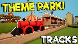 CUSTOM TOY TRAIN & NEW THEME PARK UPDATE! - Tracks - The Train Set Game Gameplay - Toy Train