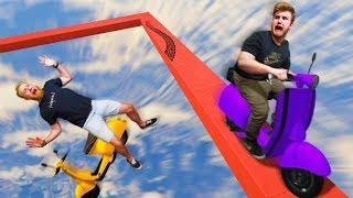 Can We SURVIVE This Obstacle Course?!   GTA5