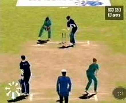 Brian Lara Cricket World Cup Match - England v Scotland Pt1