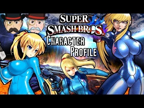 Super Smash Bros ZERO SUIT SAMUS Character Profile!