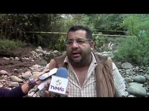 Falla geológica afectaría la corriente del río Atoyac