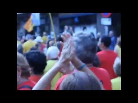 Més de 5000 terrassencs assagen la V de la propera Diada de Catalunya de l'11 de setembre