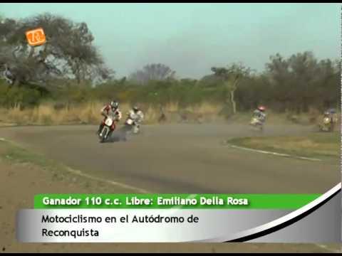 0683 EMILIANO DELLA ROSA   Motociclismo en el Autódromo de Reconquista