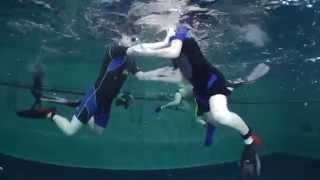 Aquathlon or underwater wrestling - Акватлон или подводная борьба