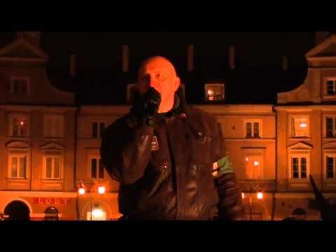 Marian Kowalski Na Marszu Pamięci Żołnierzy Wyklętych W Lublinie 2015
