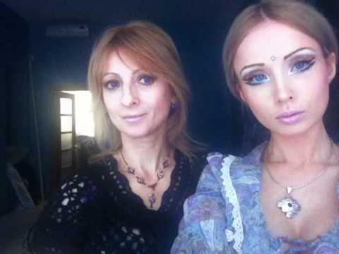 Me and my mom (Valeria Lukyanova) Amatue