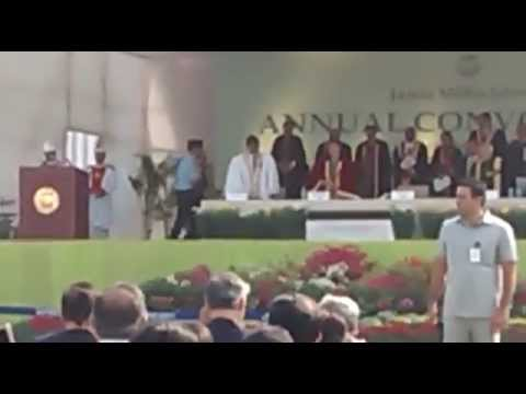 President Pranab Mukherjee live speech at Jamia Millia Islamia Convocation 2014