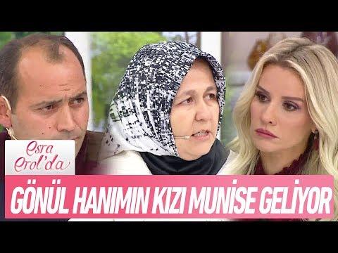 Gönül Hanım'ın 3 ay önce evden kaçan kızı Munise stüdyoya geliyor - Esra Erol'da 17 Kasım 2017