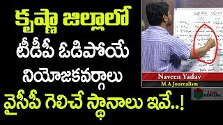 కృష్ణాజిల్లాలో టీడీపీ ఓడిపోయే స్థానాలు ఇవే..! Krishna District Survey Report | S Cube Hungama