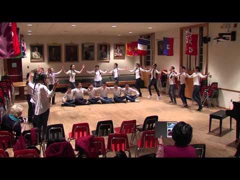 Kazakh Students Teach National Dance to South Kent School