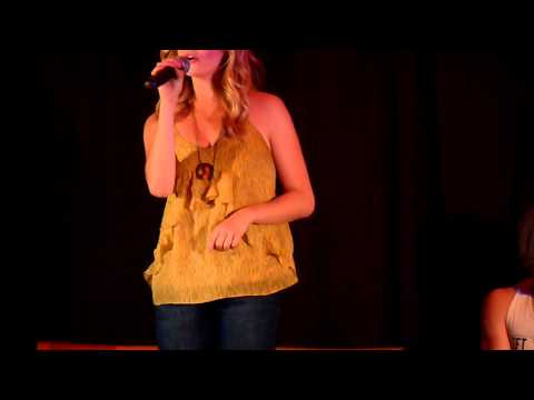 Candice Accola Singing eternal Flame At The Mystic Love Convention ! video