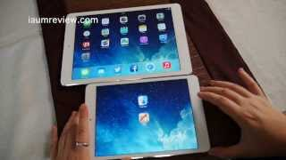 [HD]รีวิว iPad Mini 2 VS iPad Air แบบไทยไทย presented by Lumix GX7