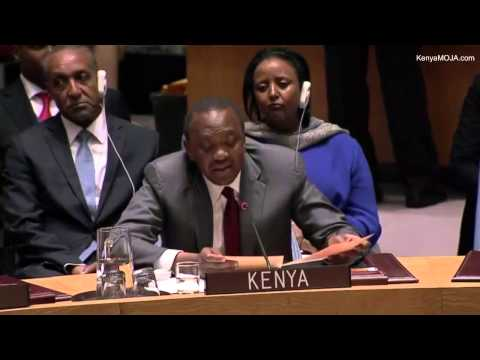 President Uhuru Kenyatta Speech at the UN General Assembly - 24 Sep 2014