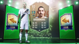 OMG 92 RATED FLASHBACK IBRAHIMOVIC! - FIFA 19 Ultimate Team