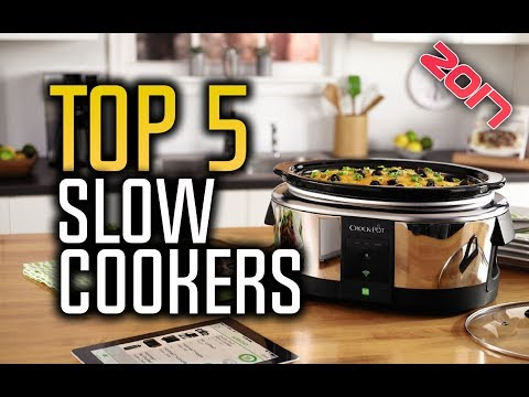 ▶️ Best Slow Cookers in 2017 - With Reviews!