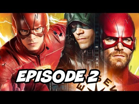 The Flash Season 5 Episode 2 and Crossover Promo Explained thumbnail