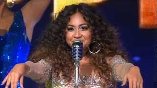 Samantha Jade: Jessica Mauboy on The X Factor Australia 2012 09-10-2012 (HQ)