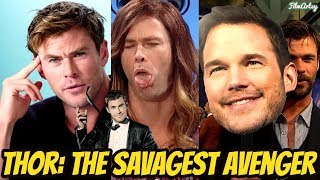 Chris Hemsworth Funniest Savage Moments | Try Not To Laugh 2018