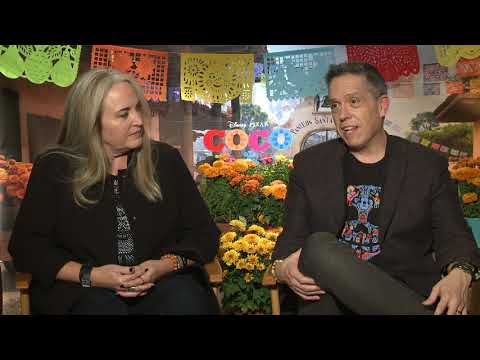 Coco || Lee Unkrich, Director & Darla K. Anderson, Producer  || SocialNews.XYZ