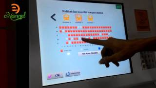 E-Kiosk Tiket Kereta Api