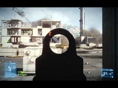 Battlefield 3 PC Rush attacker flawless gameplay