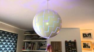Philips hue light in IKEA ps 2014 (death star)