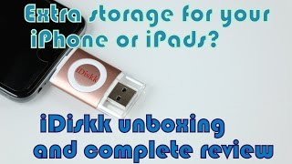 Extra storage for your iPhone or iPads? || iDiskk unboxing and complete review ||