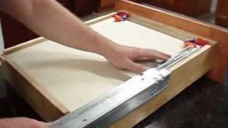 RTA Cabinet Store.com : Soft Close Drawer Glide Installation