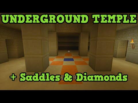 Minecraft Xbox 360 + PS3 TU20 Seed - UNDERGROUND DESERT TEMPLE