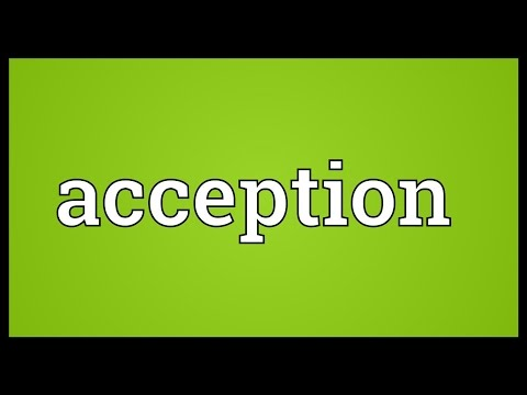 Header of Acception