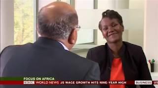Mo Ibrahim interviewed on BBC World News