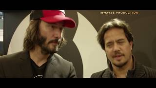 Keanu Reeves & Gard Hollinger about SOLO riding! ARCH Motorcycle Company in EICMA 2017