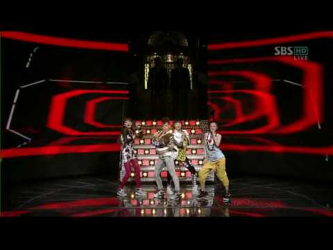 090517 - 2NE1 - FIRE (DEBUT STAGE) Music Videos