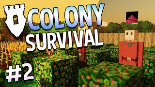 Colony Survival - #2 - Other Barry (4-Player Online!)